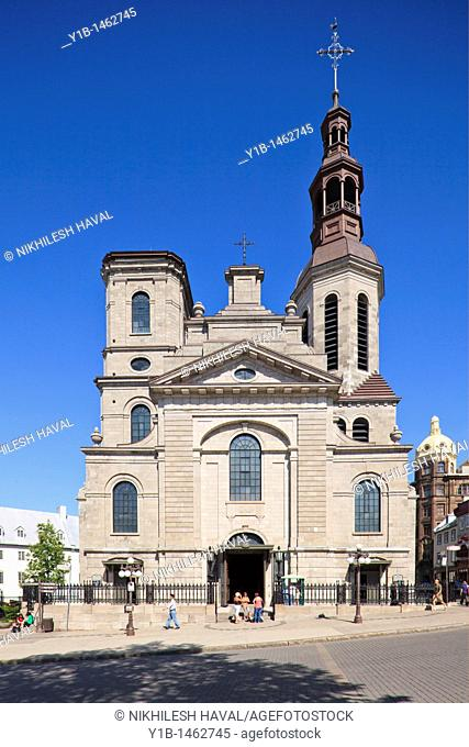 Notre Dame Cathedral Basilica, Quebec City, QC