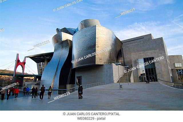 Guggenheim Museum, Bilbao. Biscay, Euskadi, Spain