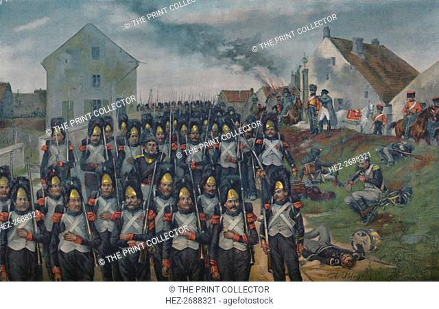 'The Guard - Campaign of France', 1896. Artist: Unknown