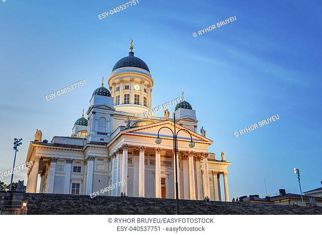 Helsinki Cathedral is the Finnish Evangelical Lutheran cathedral of the Diocese of Helsinki. Finland. It was also known as St Nicholas' Church until the...