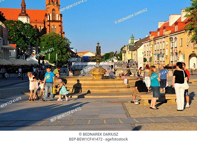 Bialystok - the largest city in northeastern Poland and the capital of the Podlaskie Voivodeship
