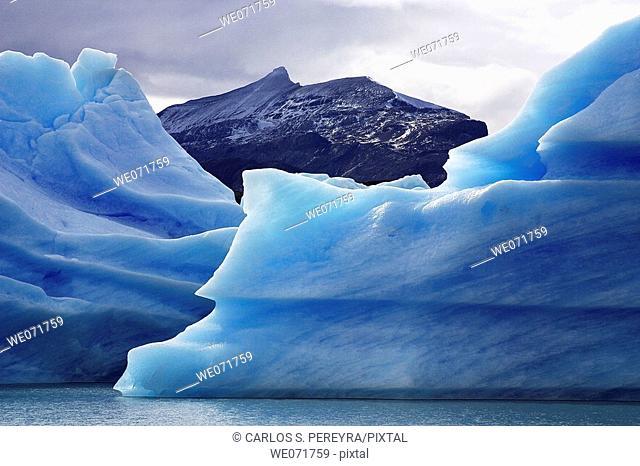 Icebergs in Calafate, Argentina