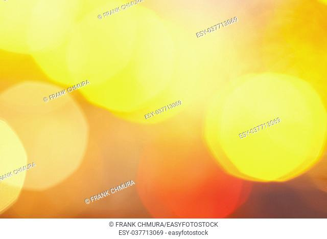 Abstract Blurred Background with Bokeh.