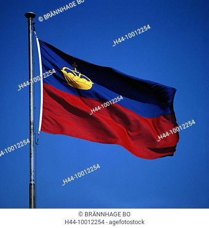10012254, flags, banners, flag, flag, banner, Liechtenstein