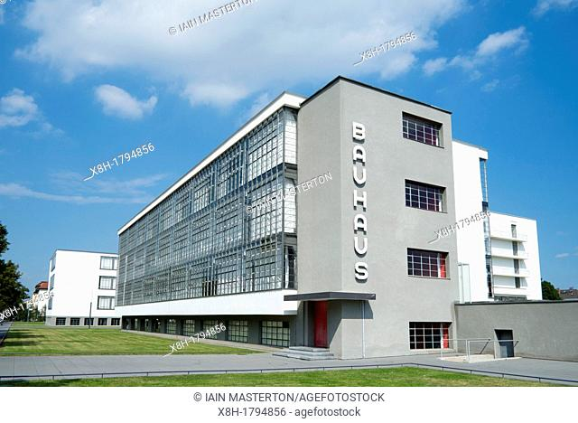 Dessau Bauhaus Stock Photo Picture And Rights Managed