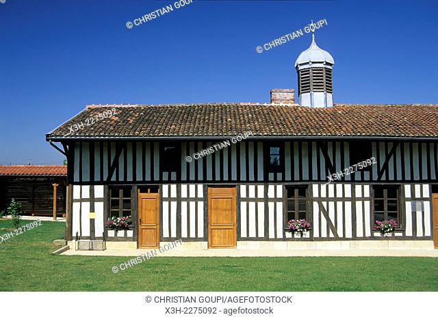 Museum of the Country of Der, Sainte-Marie-du-Lac-Nuisement, Lake Der-Chantecoq, Marne department, Champagne-Ardenne region, France, Europe