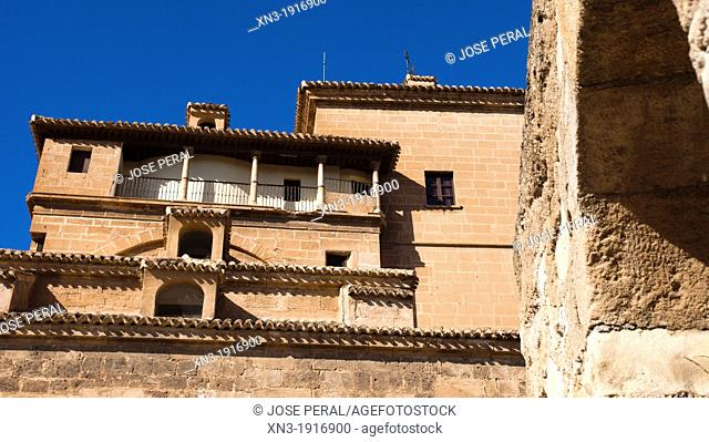 Church, Basílica del Real Alcázar de la Vera Cruz, Caravaca de la Cruz, Murcia province, Spain, Europe