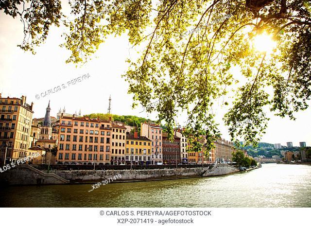 Vieux Lyon, , Rhone Alps, France, Europe