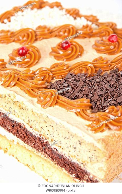 tasty nuts cake