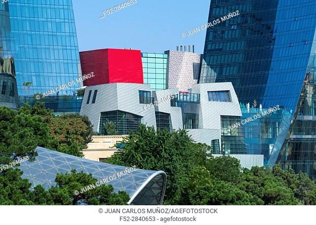Flame Towers, Baku City, Azerbaijan, Middle East