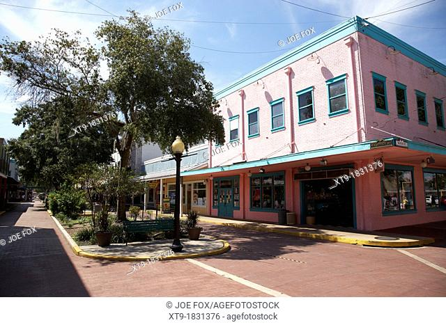 old town outdoor shopping mall kissimmee florida usa