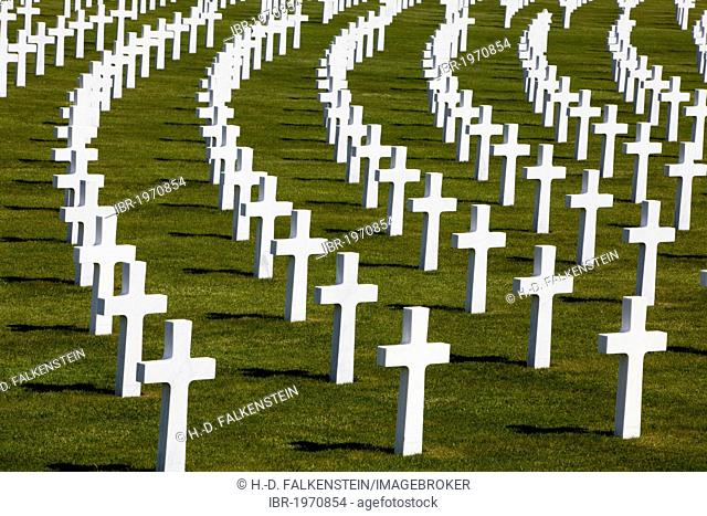 Henri-Chapelle American Cemetery and Memorial, war cemetery, Henri-Chapelle, Wallonia or Walloon Region, Belgium, Europe