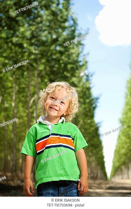 Portrait of boy 2-3