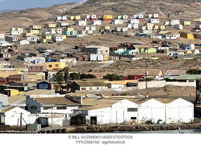 Town of Luderitz, Namibia, Africa