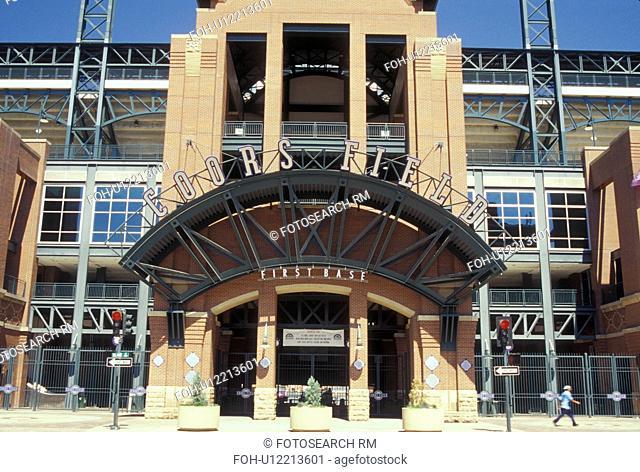 Denver, CO, Colorado, Coors Field, Denver Baseball, stadium