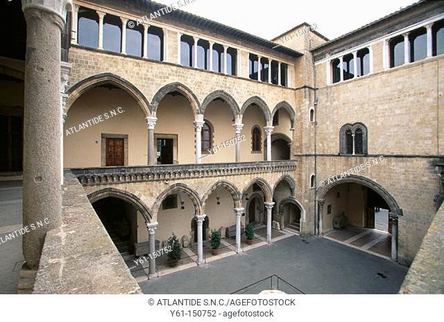 National Museum. Palazzo Vitelleschi. Tarquinia. Italy