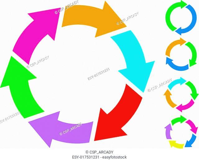 Cycle circle icon