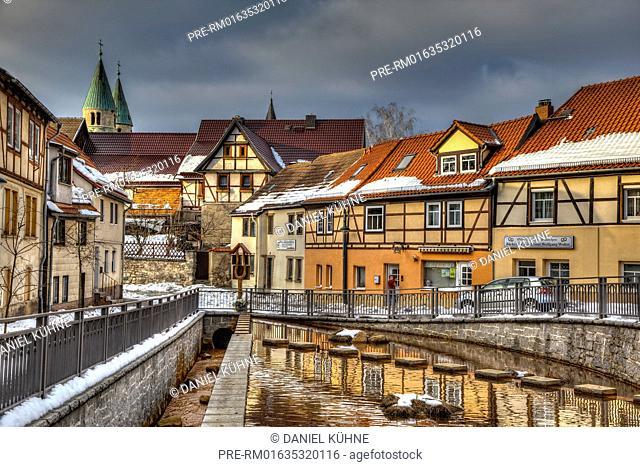 Gernrode, Quedlinburg, Harz District, Saxony-Anhalt, Germany / Gernrode, Quedlinburg, Landkreis Harz, Sachsen-Anhalt, Deutschland