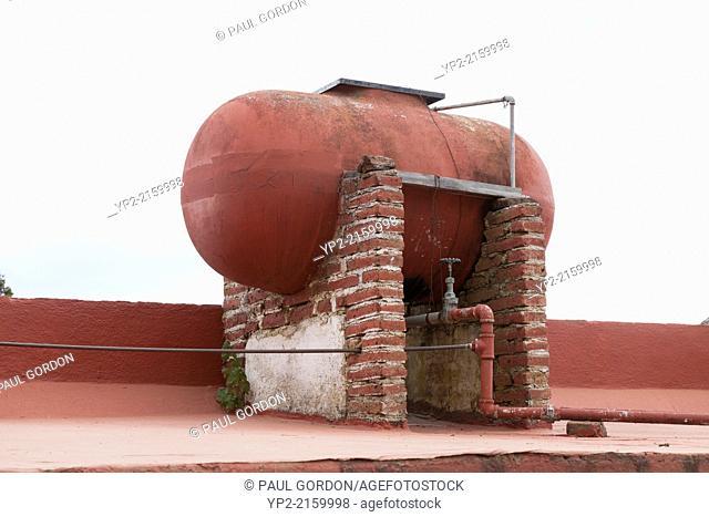 Cistern in the village of Santa Rosa de Lima - Guanajuato, Mexico
