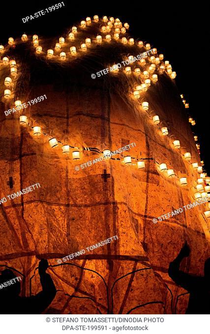 hot air balloon festival, taunggyi, myanmar, burma