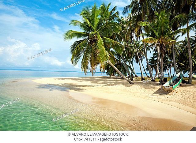 Kuna Kodup island, San Blas Islands also called Kuna Yala Islands, Panama