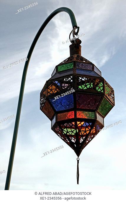 Lantern, Marrakech, Morocco