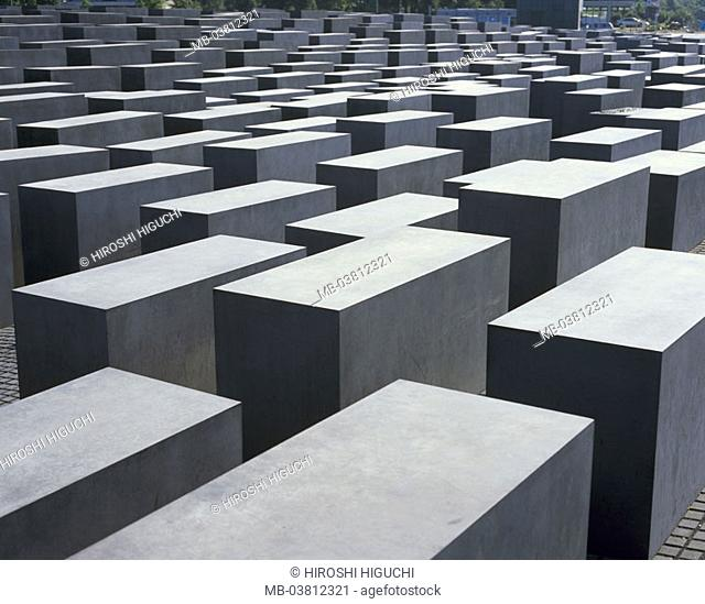 Germany, Berlin, holocaust memorial,   Europe, capital, memorial, NS-Verbrechen, persecution of the Jews, victims of the national socialism, completion 05