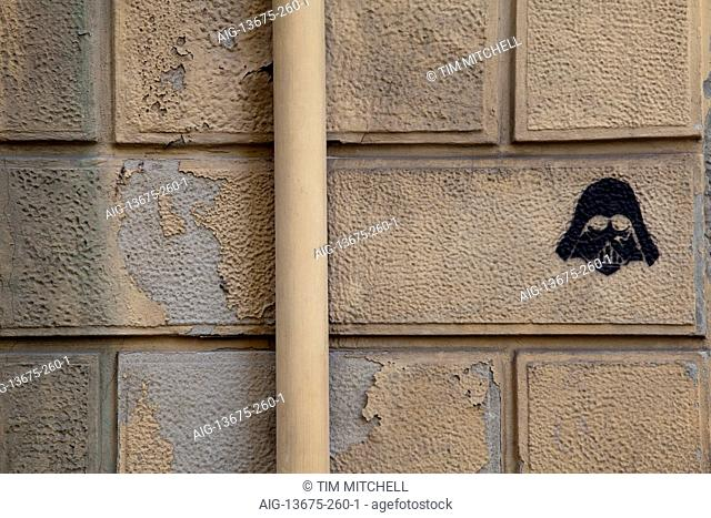 Composite Image Of Stencil Graffiti >> Stencil Graffiti Stock Photos And Images Age Fotostock