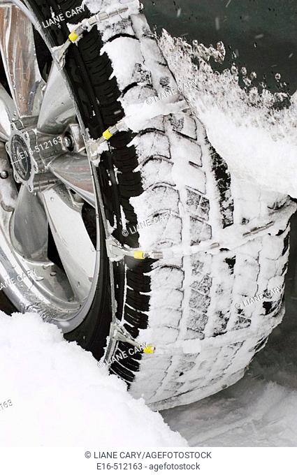 Snow chains for tire