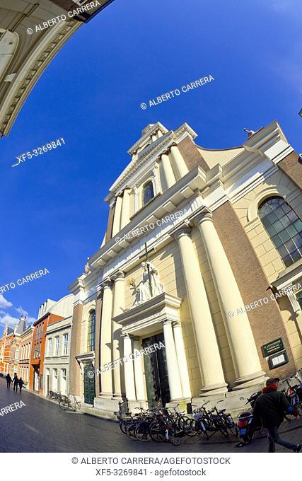 St. Anthony of Padua Cathedral, Breda, Noord-Brabant Province, Holland, Netherlands, Europe