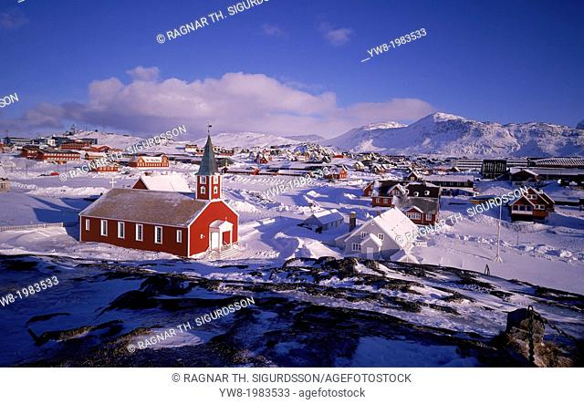 Nuuk city, Capital of Greenland