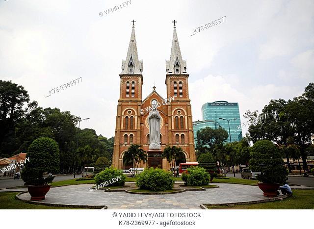 Notre Dame cathedral, Ho Chi Minh City (Saigon), Vietnam