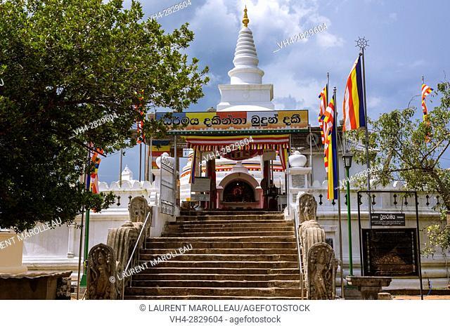 Entrance of Thuparama Dagoba, Sacred City of Anuradhapura, North Central Province, Sri Lanka, Asia