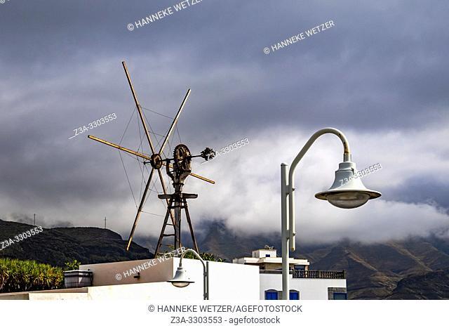 El molino de Las Nieves en Agaete / Windmill in Agaete, Gran Canaria