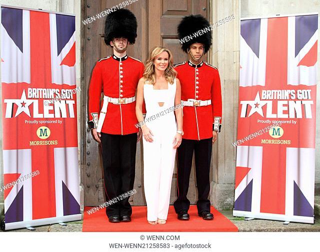 Britain's Got Talent Press Launch at St Luke's Church, Old Street, London Featuring: Amanda Holden Where: London, United Kingdom When: 09 Apr 2014 Credit: WENN