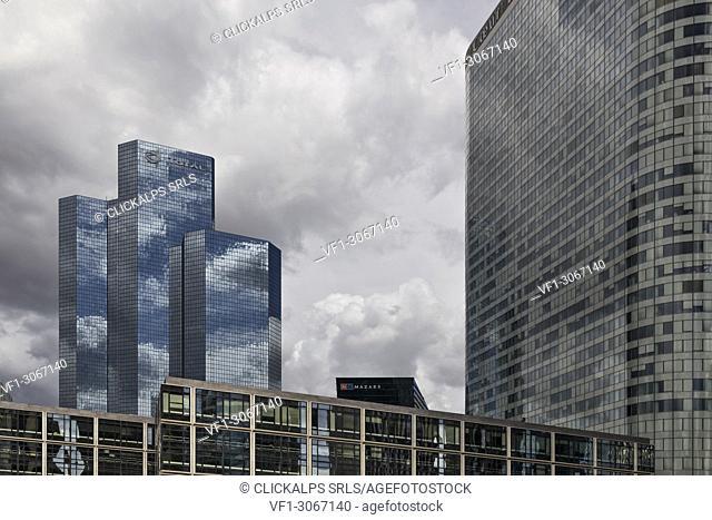 La Défense, Paris, France, Europe. La Défense business district