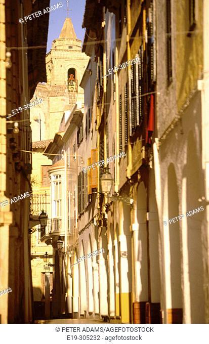 Ciutadella. Minorca. Balearic Islands. Spain