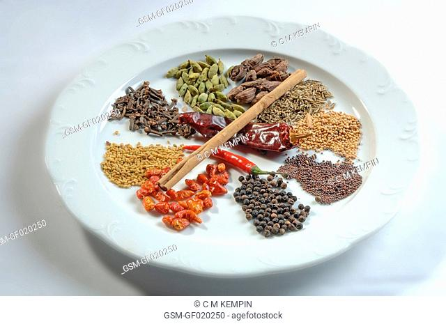 Typical Indian spices