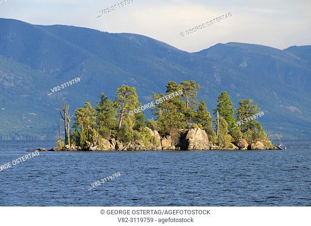 Flathead Lake to Goose Island, Flathead Lake State Park-West Shore Unit, Montana