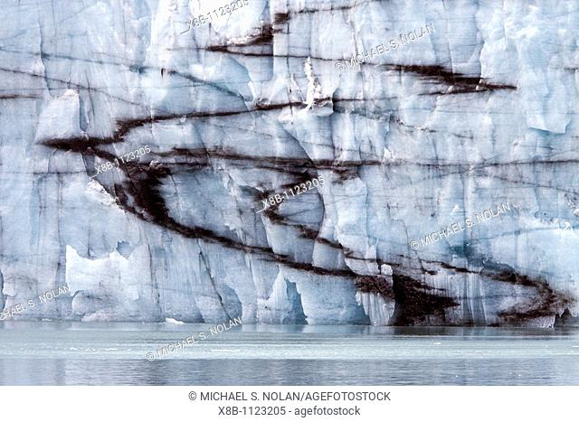 Margorie Glacier in Glacier Bay National Park, Southeast Alaska, USA, Pacific Ocean
