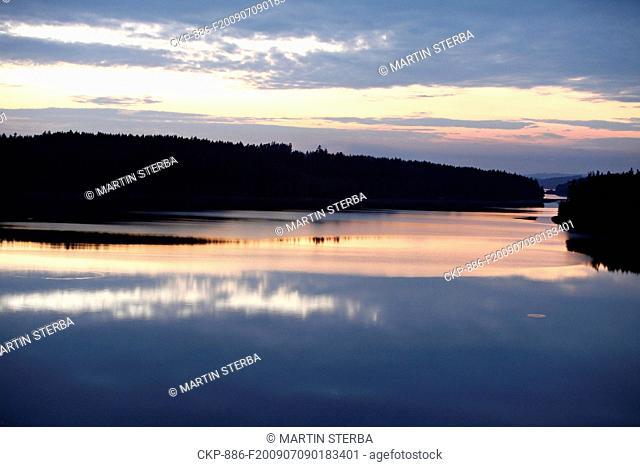 Svihov water reserve in Czech Republic on Jul 6, 2009 CTK Photo/Martin Sterba