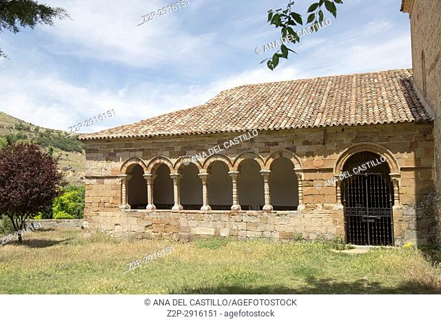 Route of Cid and Don Quixote, Atienza village in Guadalajara, province, Castilla-La Mancha, Spain