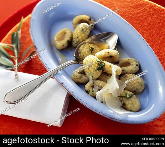 Olive gnocchi