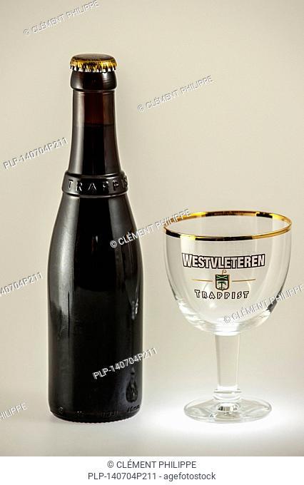 Trappist Westvleteren 12° / 10.2% ABV, best beer in the world, brewed in the Sint-Sixtusabdij / Abbey of Saint Sixtus of Westvleteren, Vleteren, West Flanders