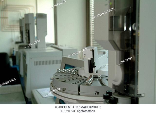 DEU, Germany, NRW: Forensic drug test laboratory. Drugs of any kind will be analysed here