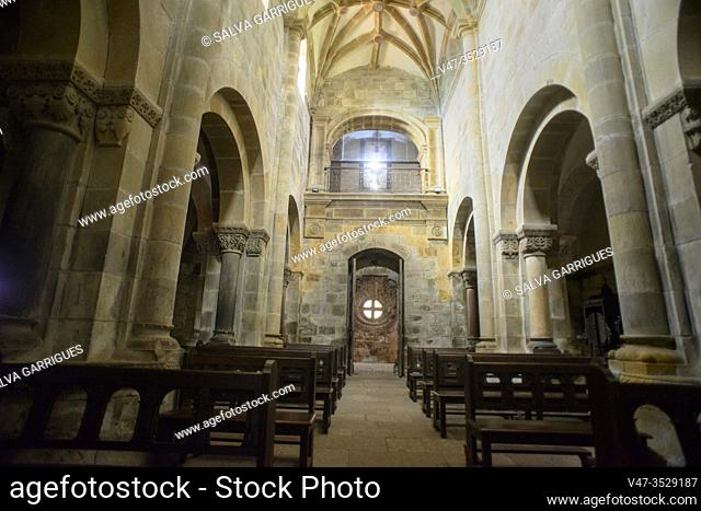 Collegiate Church of Santa María de Arbas, Villamanín, Leon, Spain