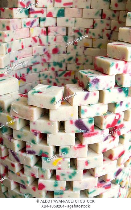 Soap, market souk area, Tripoli, Lebanon