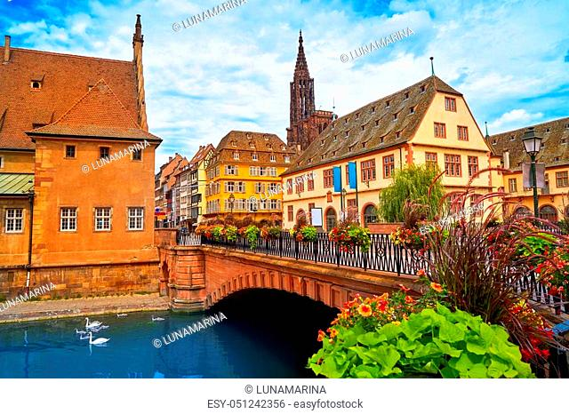 strasbourg beautiful city in france