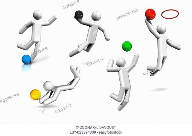 sports symbols icons series 2