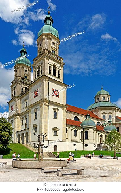 basilica, Saint Lorenz, market well